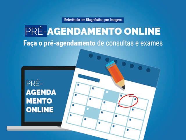 Pré-Agendamento: ONLINE